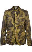 C P Company Camo Blazer Jacket - Lyst