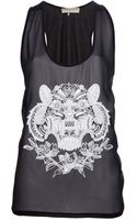Emilio Pucci Beaded Top - Lyst