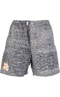 Golden Goose Deluxe Brand Branded Swim Shorts - Lyst