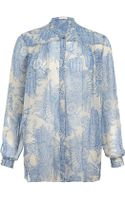 Matthew Williamson Printed Nehru Shirt - Lyst