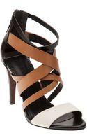 Vera Wang Strappy High Heel Sandal - Lyst