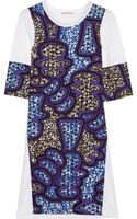Marni Printed Cotton Poplin and Jersey Dress - Lyst