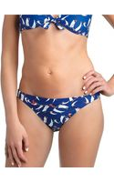 Ralph Lauren Blue Label Portofino Boat Print Hipster Swim Bottoms - Lyst