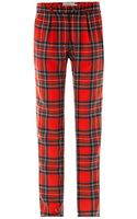 Preen By Thorton Bregazzi Bo Tartan Wool Trousers - Lyst