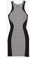 Torn By Ronny Kobo Exclusive Contrast Striped Tank Dress - Lyst