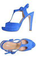 Pierre Darre' Platform Sandals - Lyst