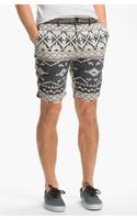 Scotch & Soda Flat Front Linen Blend Shorts - Lyst