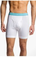 Calvin Klein Stretch Cotton Boxer Briefs 2pack - Lyst