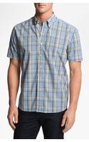 Cutter & Buck Leary Plaid Sport Shirt Big Tall - Lyst