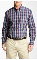 Cutter & Buck Palouse Plaid Sport Shirt Big Tall - Lyst