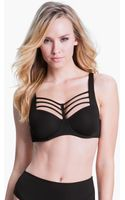 Marlies Dekkers Leading Strings Underwire Push Up Bra - Lyst
