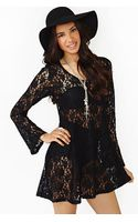Nasty Gal Rambler Lace Dress - Lyst