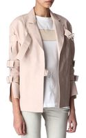 Acne Studios Vallora Leather Jacket - Lyst
