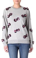 House Of Holland Embellished Sweater - Lyst