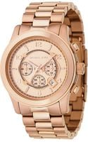 Michael Kors Jet Set Mens Watch Rose Gold - Lyst