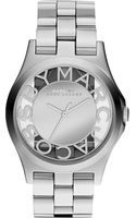Marc By Marc Jacobs Henry Stainless Steel Watch Silver - Lyst