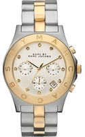 Marc By Marc Jacobs Steel Chronograph Watch - Lyst