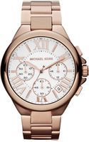 Michael Kors Stainless Steel Chronograph Watch White - Lyst