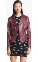 McQ by Alexander McQueen Congo Leather Biker Jacket - Lyst