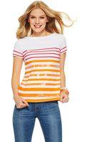C. Wonder Sequin Stripes Crewneck Tee - Lyst