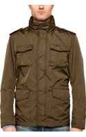 Gant Rugger Nylon Army Jacket - Lyst