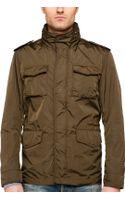 Gant Rugger Nylon Army Jacket - Lyst