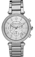 Michael Kors Stainless Steel Chronograph Watch Silver - Lyst