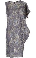 Mm6 By Maison Martin Margiela Short Dresses - Lyst