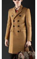 Burberry Bonded Cashmere Chesterfield - Lyst