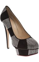 Charlotte Olympia Paparazzi Crystal Pump - Lyst