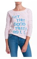 Chaser Let The Good Times Roll Sweatshirt - Lyst