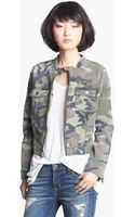 Textile Elizabeth And James Wesley Camo Jacket - Lyst