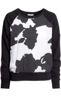 H&M Patterned Sweatshirt - Lyst