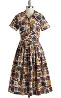 ModCloth Baggage Claim To Fame Dress - Lyst
