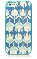 Tory Burch Hamana Soft Case For Iphone 5 - Lyst