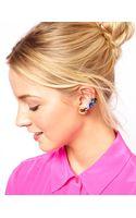 Asos Rainbow Jewel Earcuff Pack - Lyst