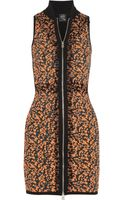 McQ by Alexander McQueen Textured print Knitted Dress - Lyst