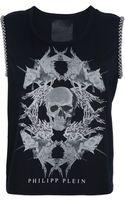 Philipp Plein Skull and Unicorn Print Tshirt - Lyst