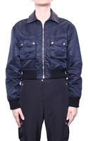 T By Alexander Wang Bomber Nylon - Lyst
