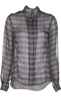 Theyskens' Theory Blend Blouse - Lyst