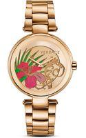 Versace Mystique Hibiscus Watch 38mm - Lyst