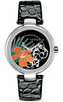 Versace Mystique Hibiscus Watch 38mm - Lyst