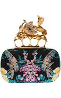 Alexander McQueen Humming bird Knuckle-box Clutch - Lyst
