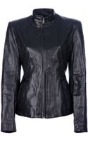 Theyskens' Theory Jabari Leather Jacket - Lyst