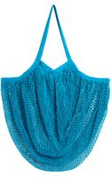 Echo Fishnet Beach Bag - Lyst