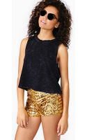 Nasty Gal Disco Heat Sequin Shorts - Lyst