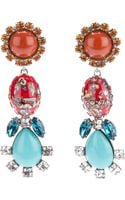 Dannijo Eddie Earrings - Lyst