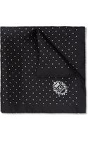 Dolce & Gabbana Swiss Dot Silk Pocket Square - Lyst