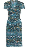 Issa Printed Satinjersey Dress - Lyst