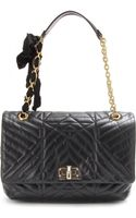 Lanvin Happy Large Quilted Leather Shoulder Bag - Lyst